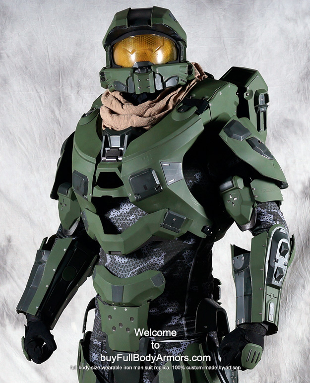 & Halo 4 Master Chief Armor Costume