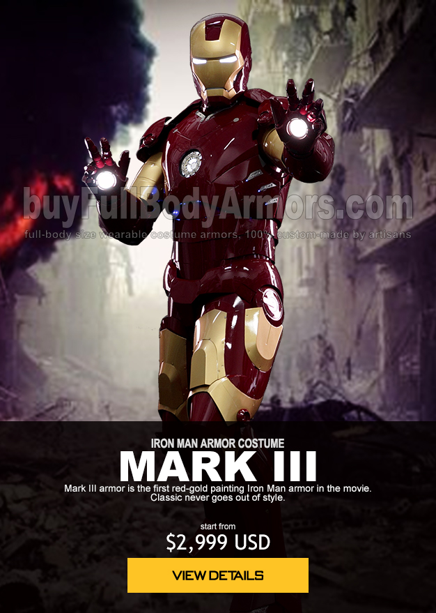 IRON MAN ARMOR COSTUME