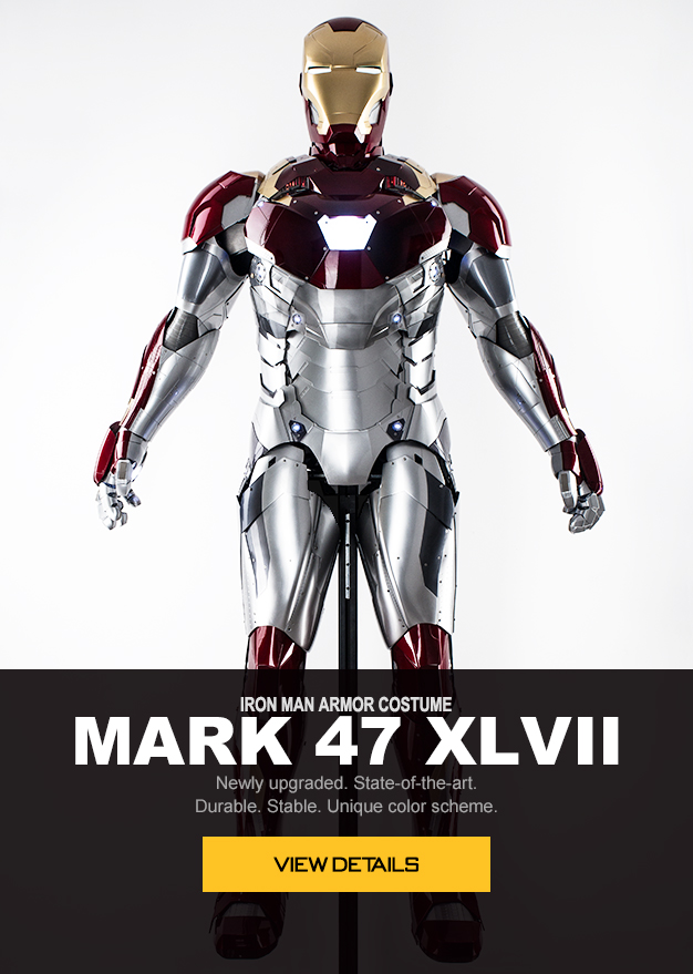 wearable iron man Mark 47 XLVII armor costume suit