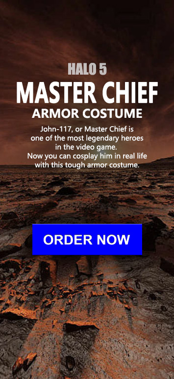 The Wearable Halo 4 Master Chief armor suit costume