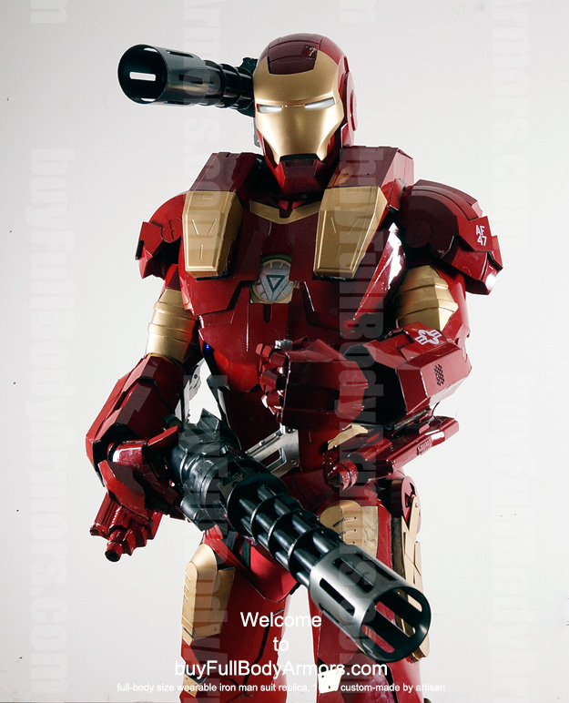 Order the Wearable War Machine Furious suit costume