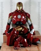 Wearable Iron Man suit costume Mark 4 (IV)