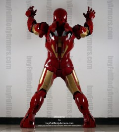 Wearable Iron Man suit costume Mark 4 (IV)  back-1