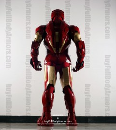 Wearable Iron Man suit costume Mark 4 (IV)  back-2