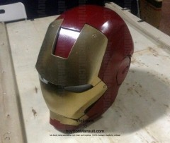 Wearable Iron Man suit costume Mark 6 (VI) components-13