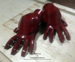 Wearable Iron Man suit costume Mark 6 (VI) components-20