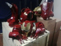 Wearable Iron Man suit costume Mark 6 (VI) components-25