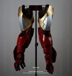 Wearable Iron Man suit costume Mark 6 (VI) components-4