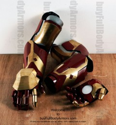 Wearable Iron Man suit costume Mark 42 (XLII) components-4