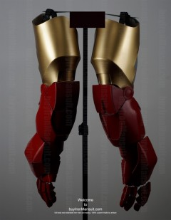 Wearable Iron Man suit costume Mark 6 (VI) components-5