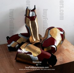 Wearable Iron Man suit costume Mark 42 (XLII) components-6