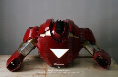 Wearable Iron Man suit costume Mark 6 (VI) components-9