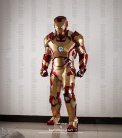 Wearable Iron Man suit costume Mark 42 (XLII) front-1