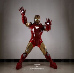 Wearable Iron Man suit costume Mark 6 (VI) front-2