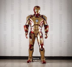 Wearable Iron Man suit costume Mark 42 (XLII) front-2