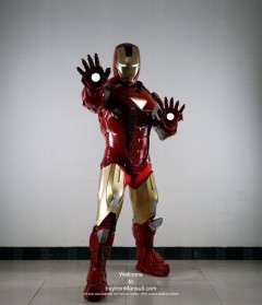 Wearable Iron Man suit costume Mark 6 (VI) front-3