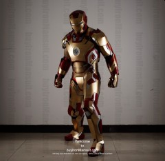 Wearable Iron Man suit costume Mark 42 (XLII) front-3