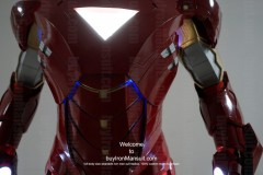 Wearable Iron Man suit costume Mark 6 (VI) front-4