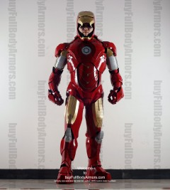 Wearable Iron Man suit costume Mark 4 (IV)  front-1