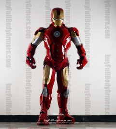 Wearable Iron Man suit costume Mark 4 (IV)  front-2