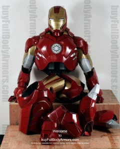 Wearable Iron Man suit costume Mark 4 (IV) components-1
