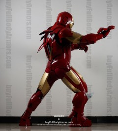 Wearable Iron Man suit costume Mark 4 (IV) side-1