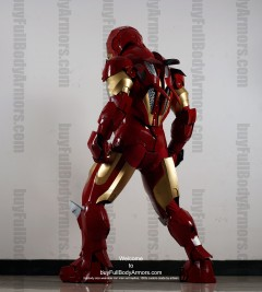 Wearable Iron Man suit costume Mark 4 (IV) back-4