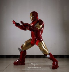 Wearable Iron Man suit costume Mark 6 (VI) side-2