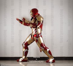 Wearable Iron Man suit costume Mark 42 (XLII) side-2