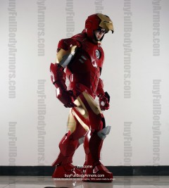 Wearable Iron Man suit costume Mark 4 (IV) side-3