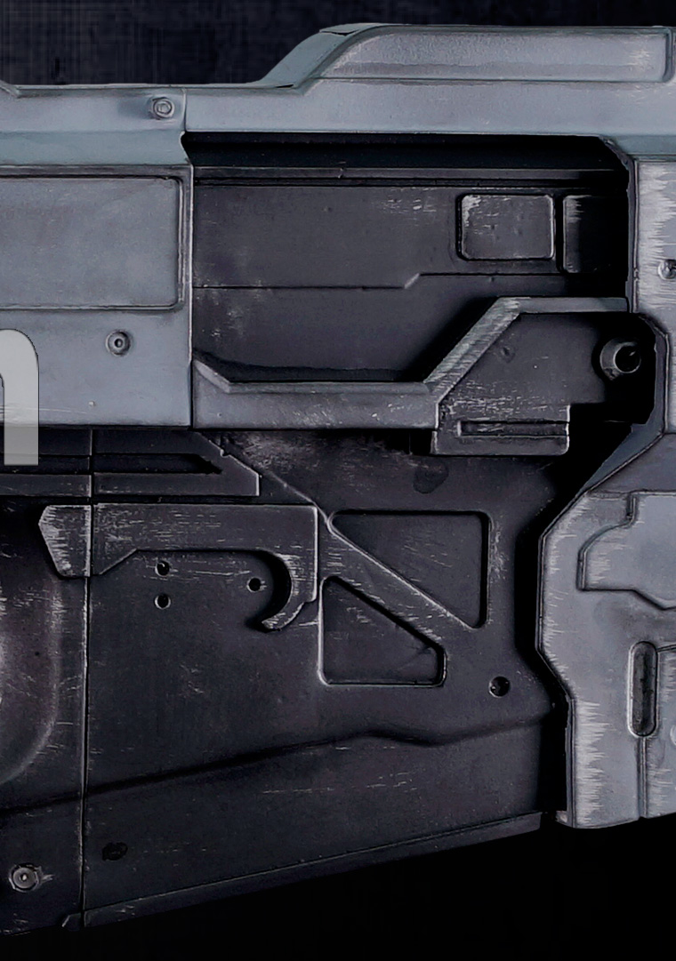 More Ultra High Definition Photos of the Halo Wars 2 ARC920 RailGun (Rail Gun) 4 detail 3