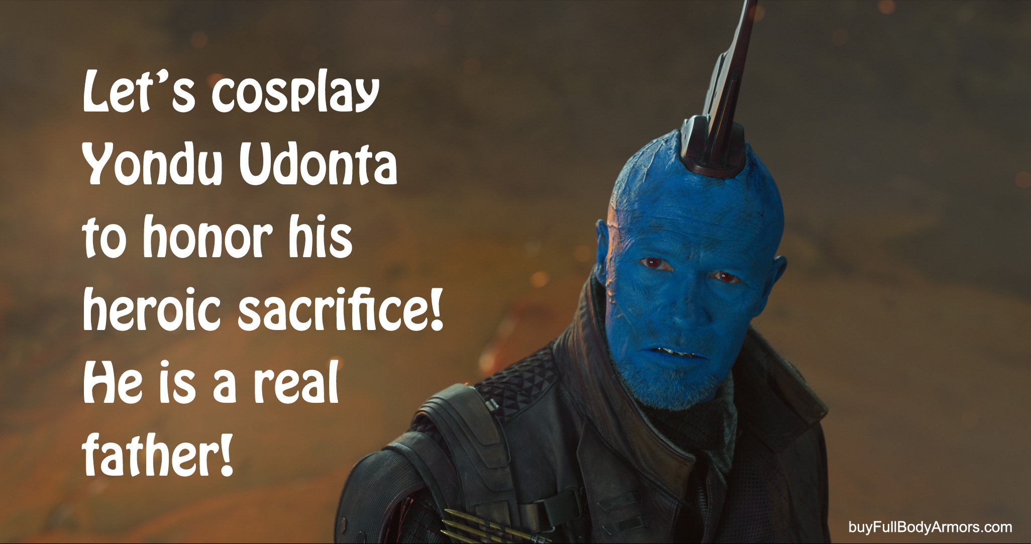 the Wearable Yondu Udonta Prototype Fin - Guardians of the Galaxy Vol 2