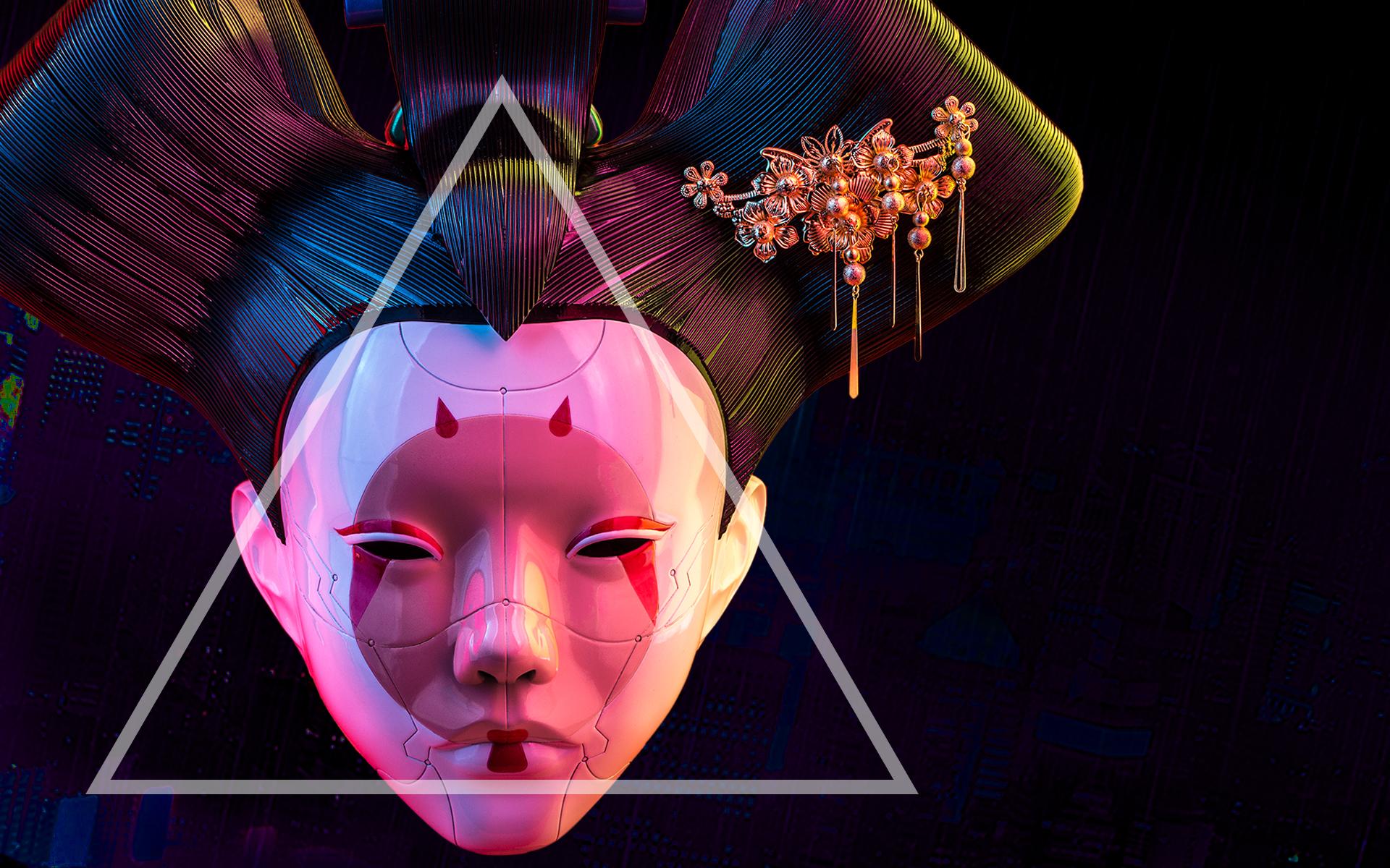 robotic geisha