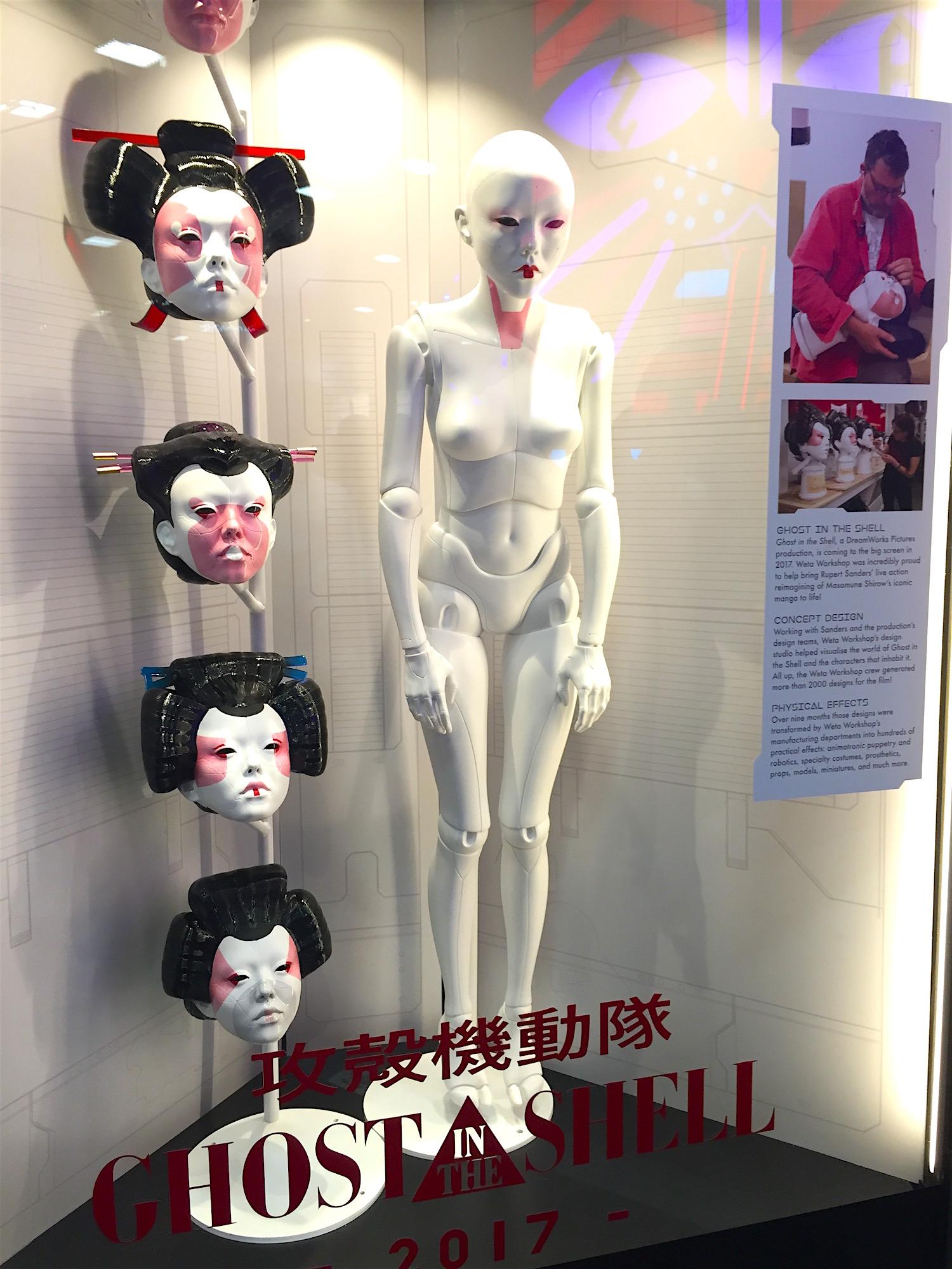 Ghost in the Shell movie 2017 echter Geisha Deluxe anzug faschingskostüme kaufen full body