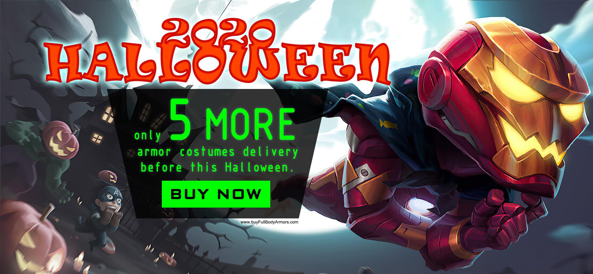 Halloween 2020 Iron Man armor suit costume