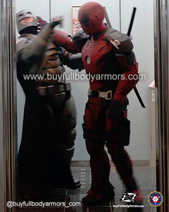 Iron Deadpool v Armored Batman [Comiket 92, Tokyo 2017] 4