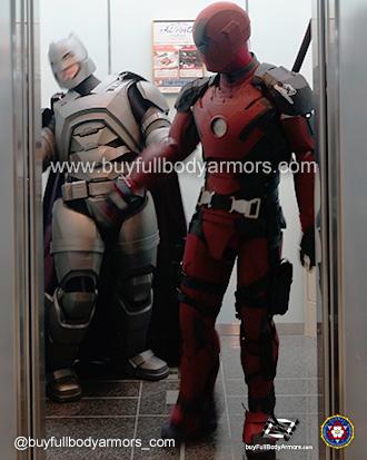 Iron Deadpool v Armored Batman [Comiket 92, Tokyo 2017] 5