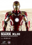 wearable iron man mark 43 suit