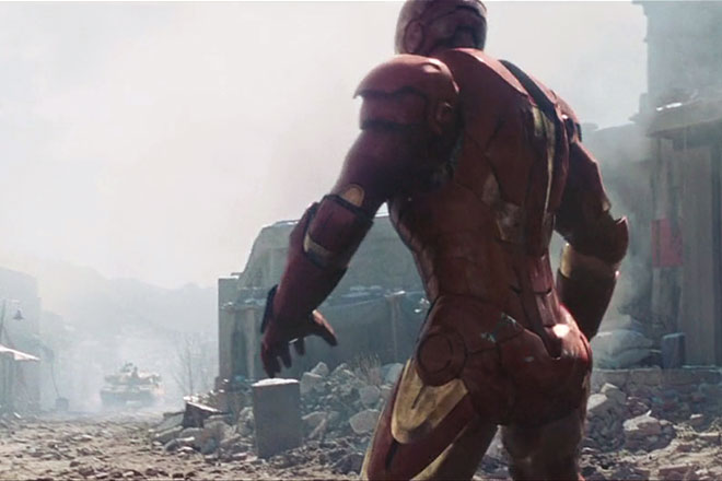 the Wearable Iron Man Mark III 3 Armor costume suit inspired 2