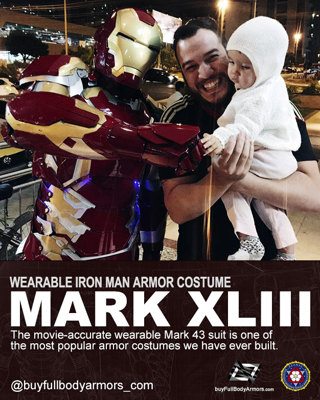 Photos from Customers - The Wearable Iron Man Mark 43 (XLIII) Suit Armor Costume 3
