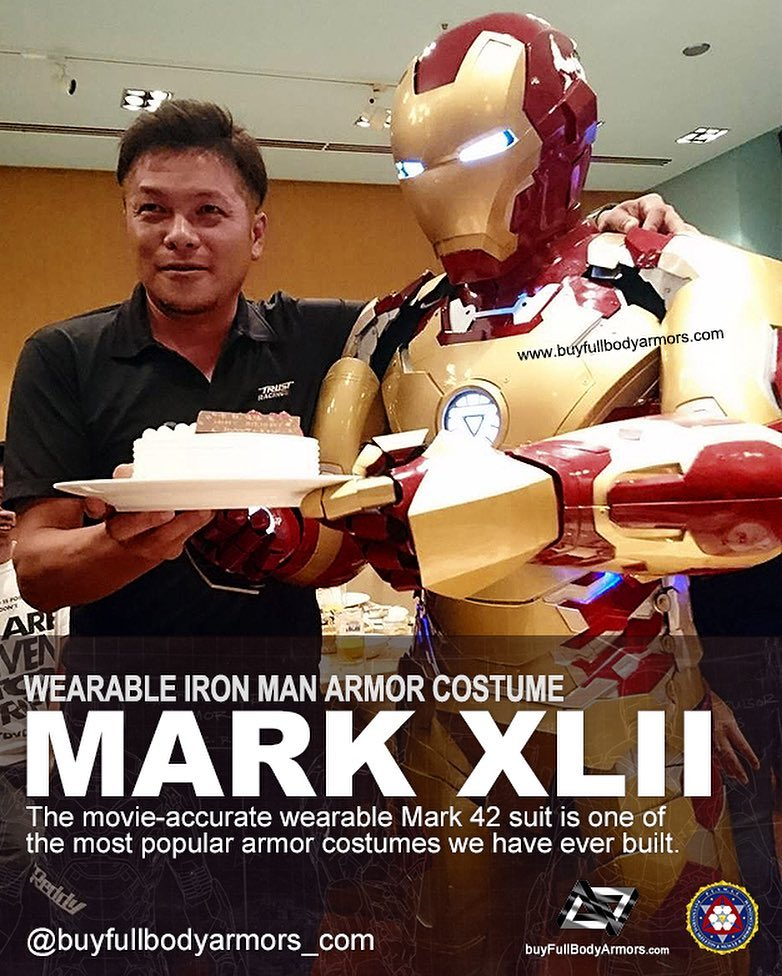 Photos from Customers - Made-to-Measure Iron Man Mark 43 XLIII Armor Cosplay Costume Suit 4