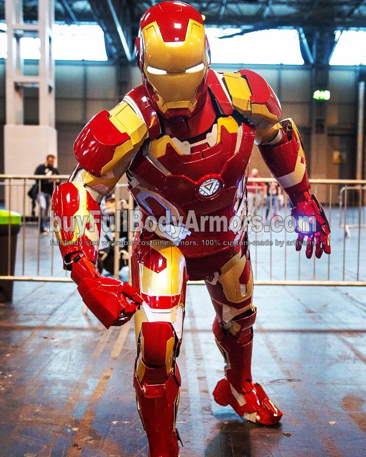 wearable Iron Man Suit Mark 43 armor costume customer 1