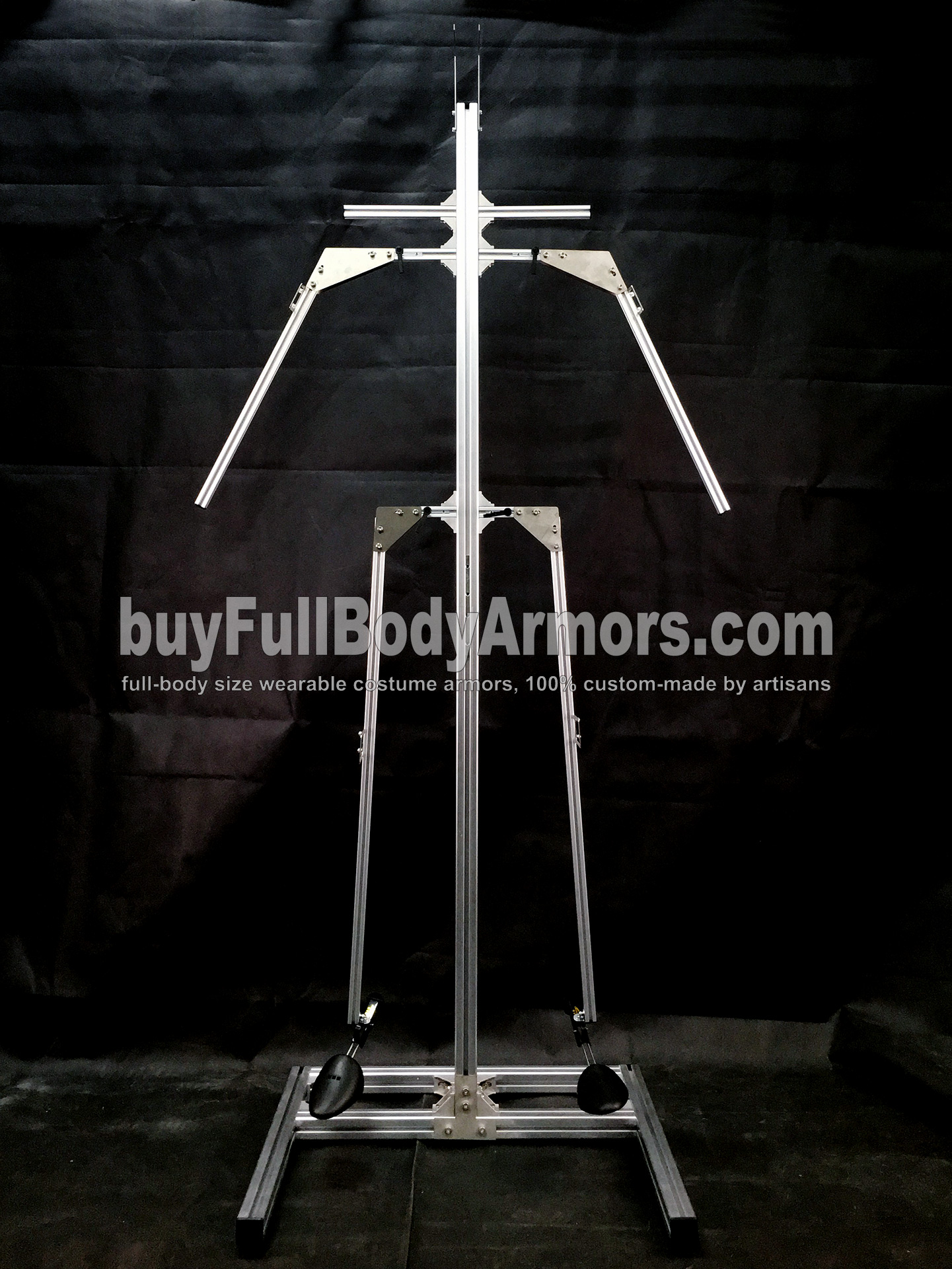 Universal Aluminium Alloy Support (UAAS) for All Our Armor Costumes is Available Now 1