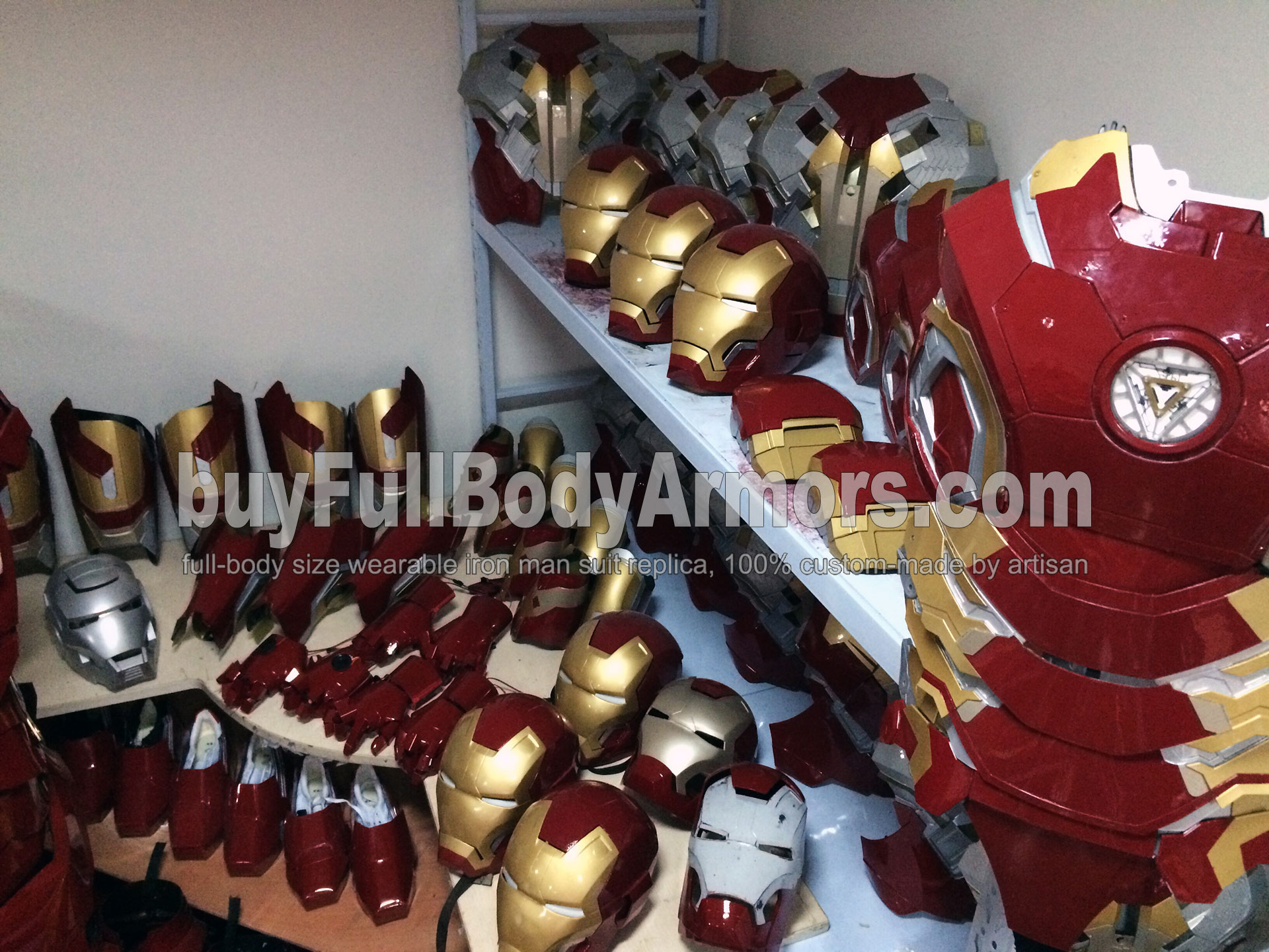 update iron man suit armors
