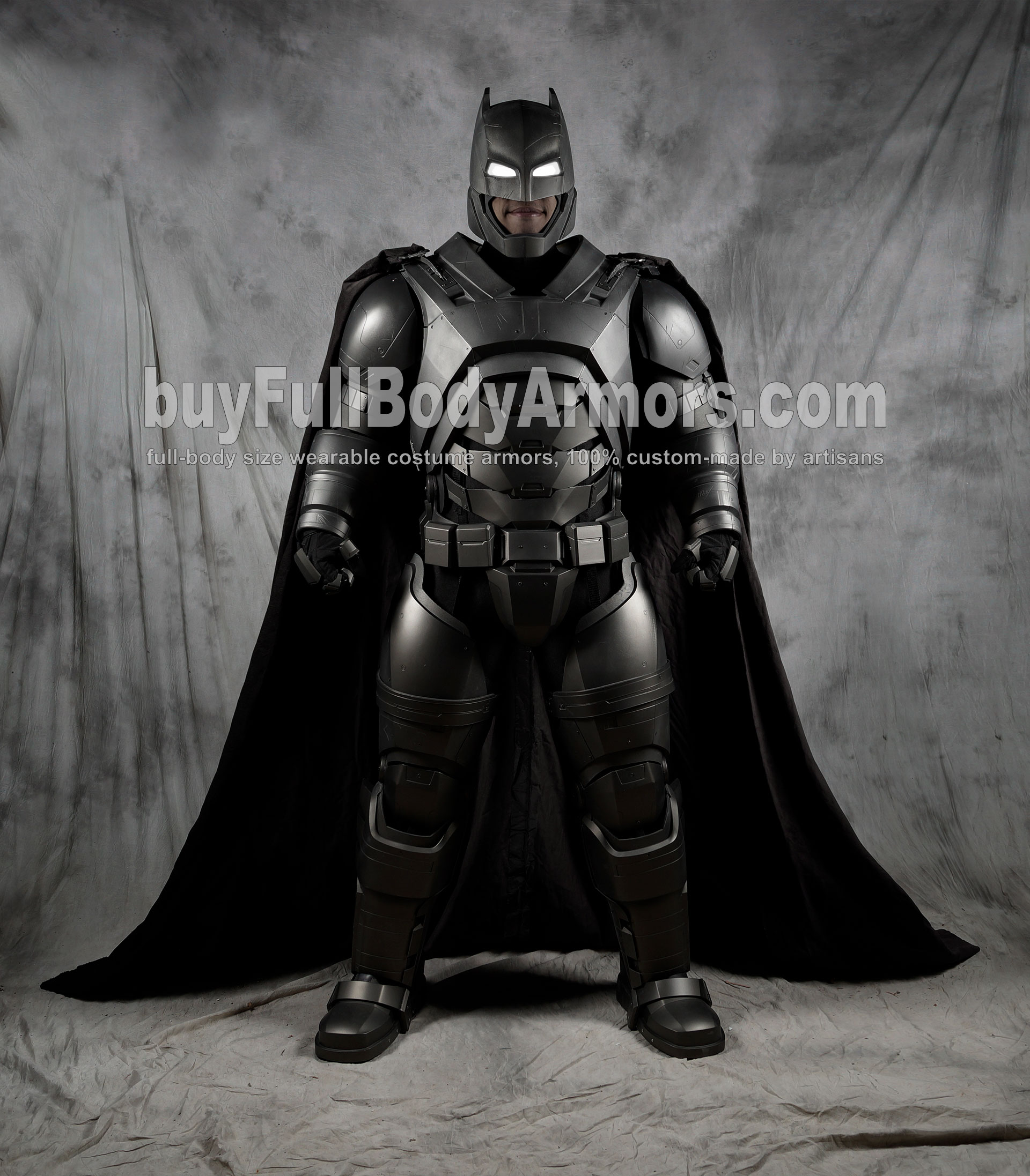The Wearable Armored Batsuit (Batman armor suit costume) front