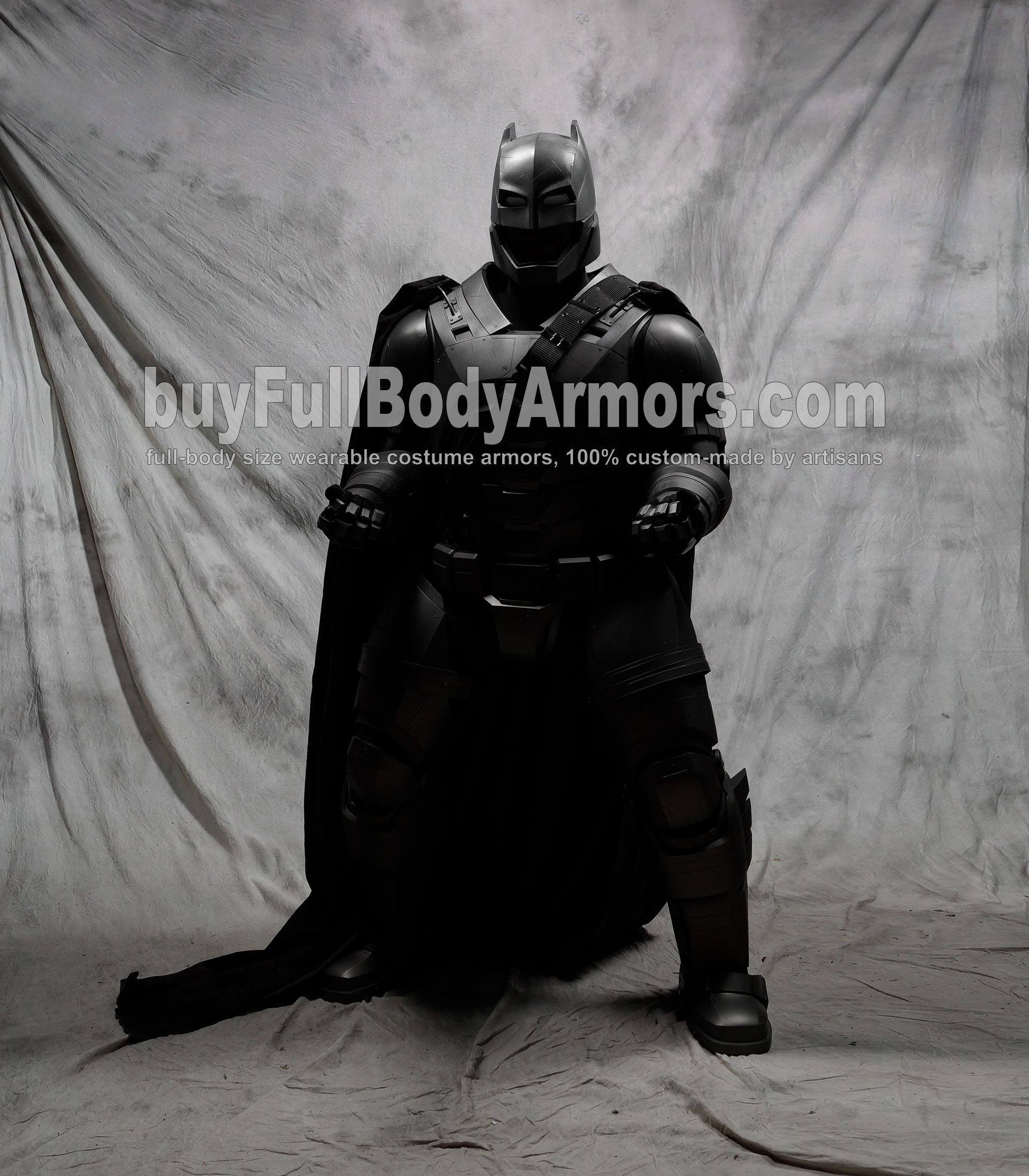The Wearable Armored Batsuit (Batman armor suit costume) front muscle
