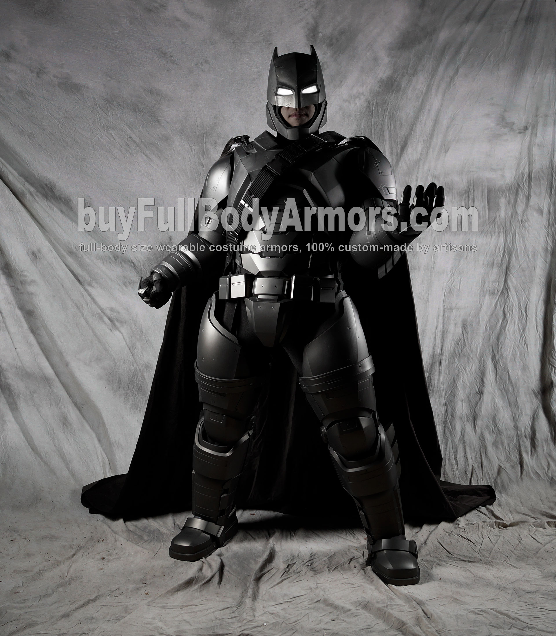The Wearable Armored Batsuit (Batman armor suit costume) front power