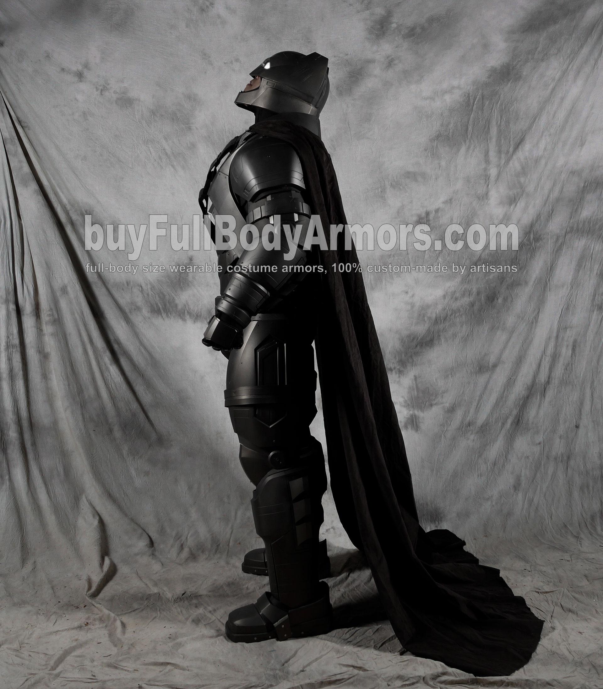 The Wearable Armored Batsuit (Batman armor suit costume) side