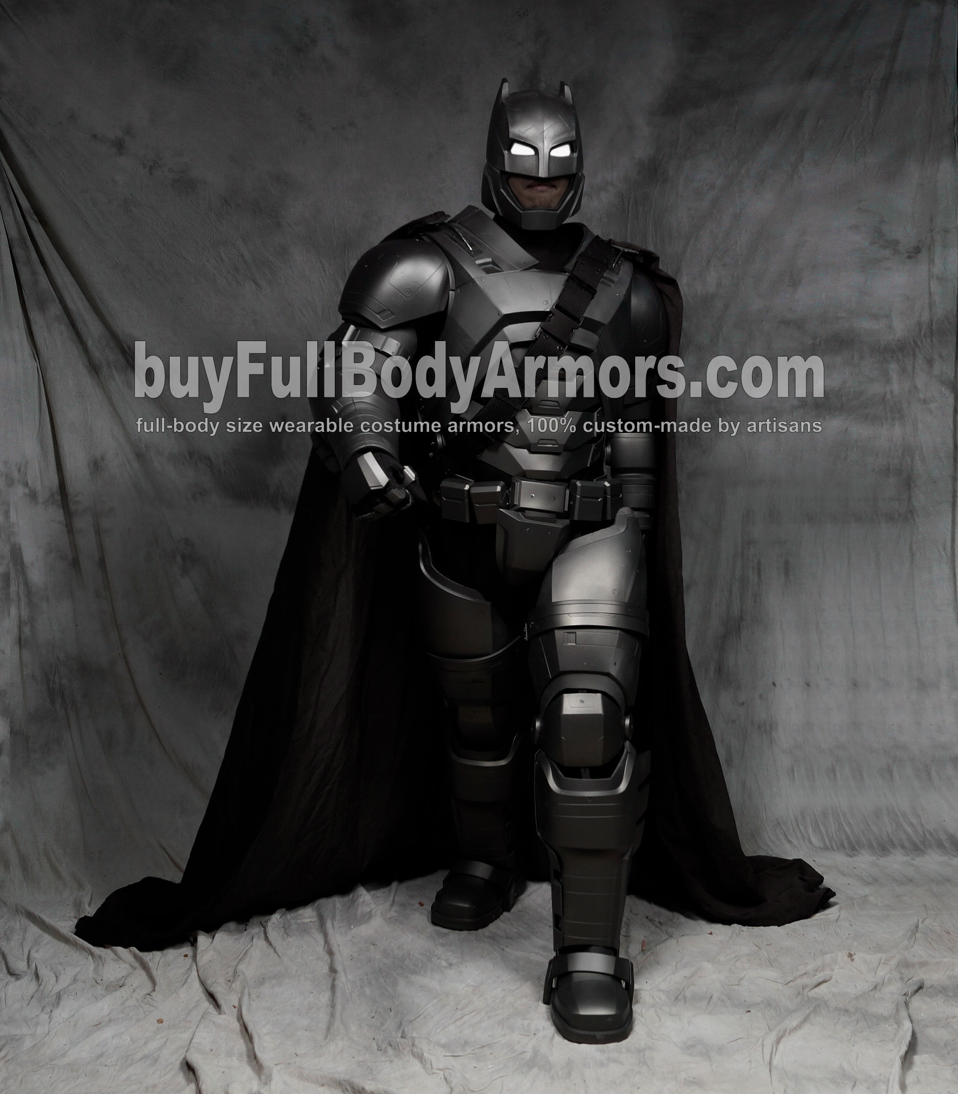 The Wearable Armored Batsuit (Batman armor suit costume) walk