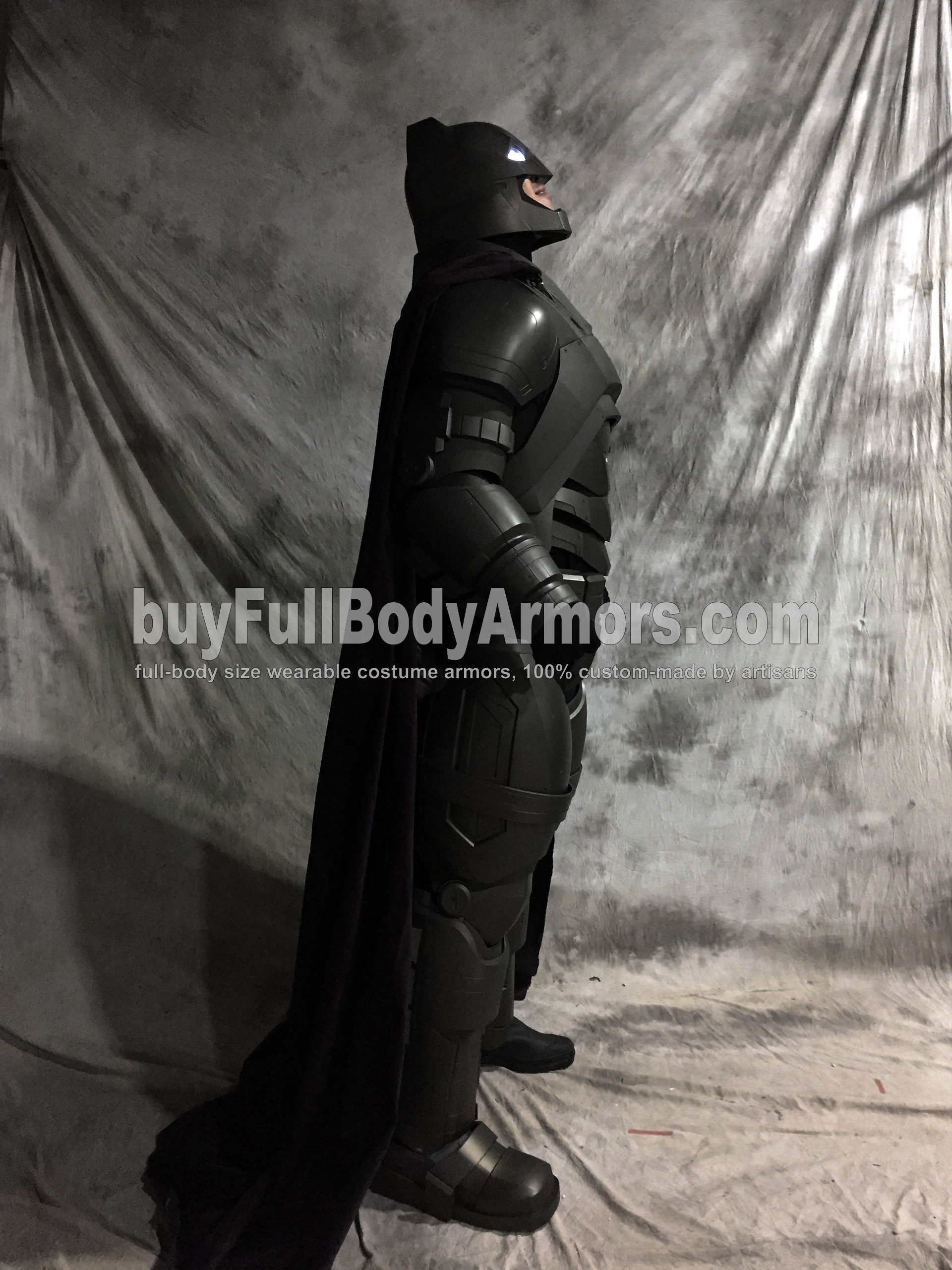Full Body Prototype of the Wearable Armored Batsuit (Batman armor suit costume) in Batman v Superman: Dawn of Justice (2016) 2